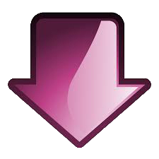 Pink Arrow down